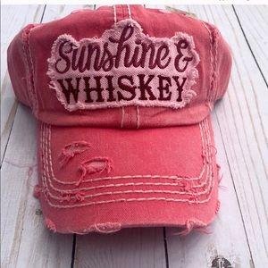 🌵Sunshine & Whiskey Trucker Hat🌵